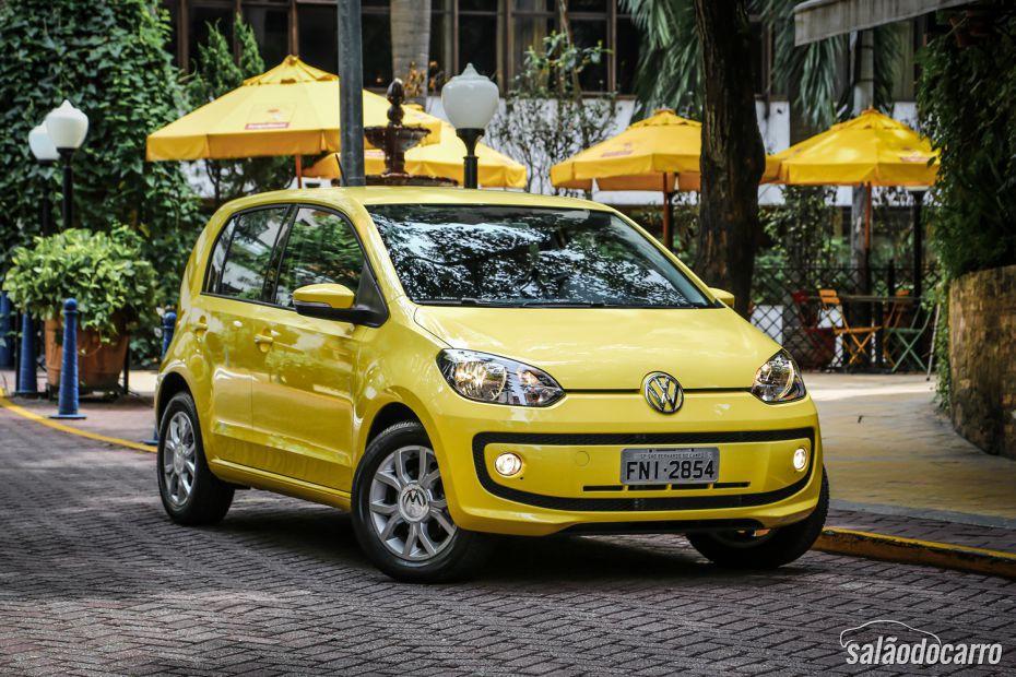 Volkswagen up! sofre reajuste de preço no Brasil