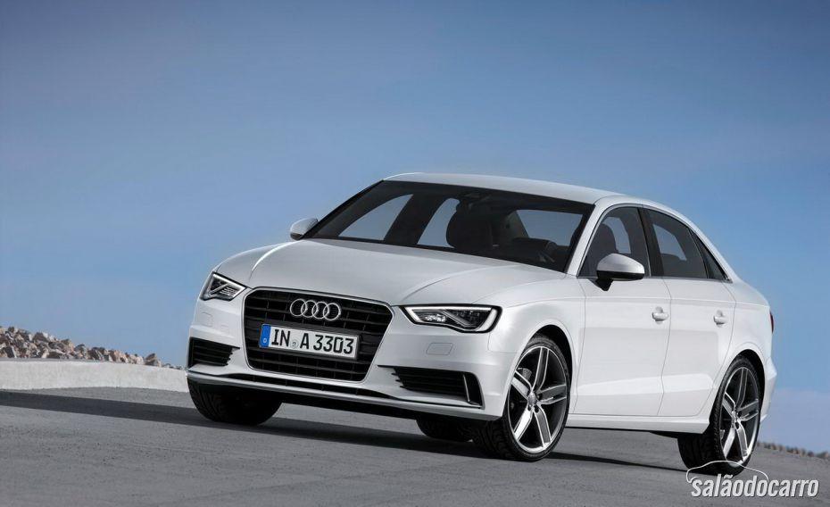 Audi A3 Sedan Ambition tem preços a partir de R$ 134.620