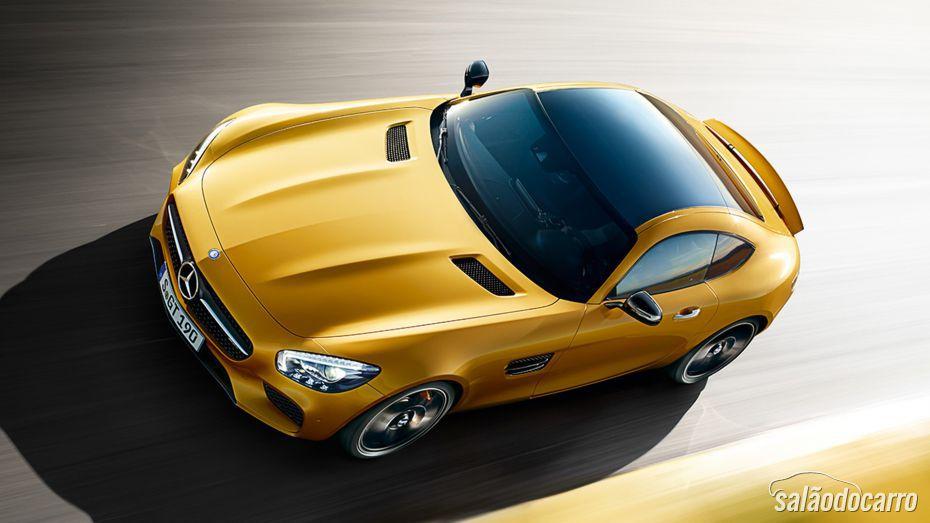 Mercedes-Benz mostra AMG GT ao público