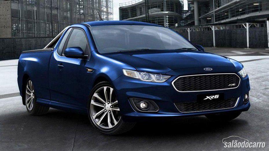 Ford apresenta Falcon Ute XR6