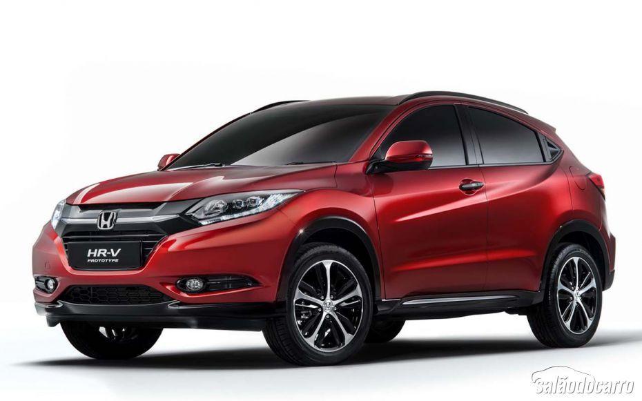 Honda divulga imagens do HR-V