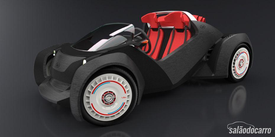 Impressora 3D cria carro em 44 horas
