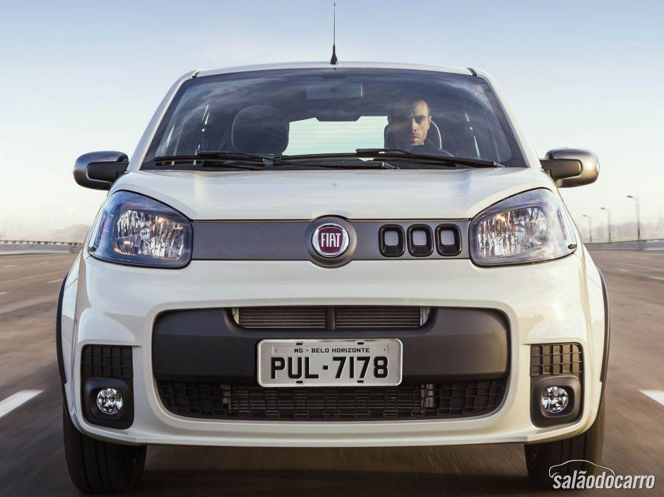 Fiat Uno 2015 chega com mais tecnologia