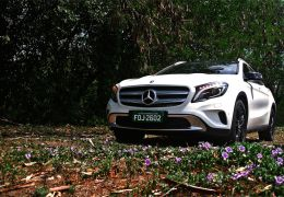 Teste do novo Mercedes-Benz GLA