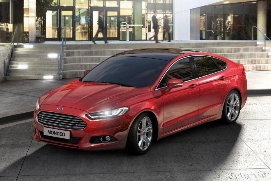 Novo Mondeo terá versões 1.0 e Hybrid, confirma Ford