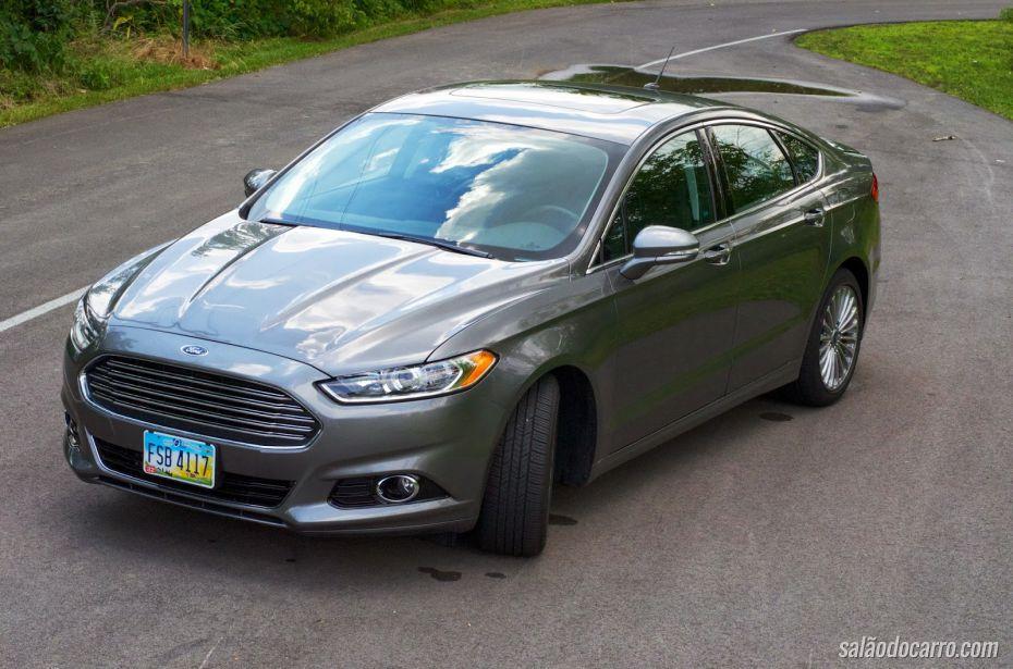Preços do Ford Fusion 2015 começam em R$ 101.700