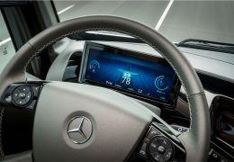 Os interiores de caminhões e utilitários conceituais futuristas do Salão de Hanôver 2014