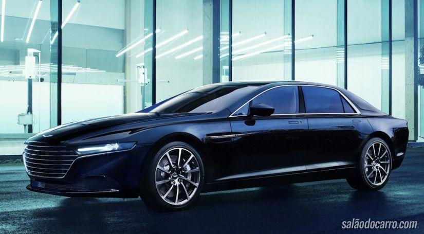 Aston Martin revela imagens do interior do novo Lagonda