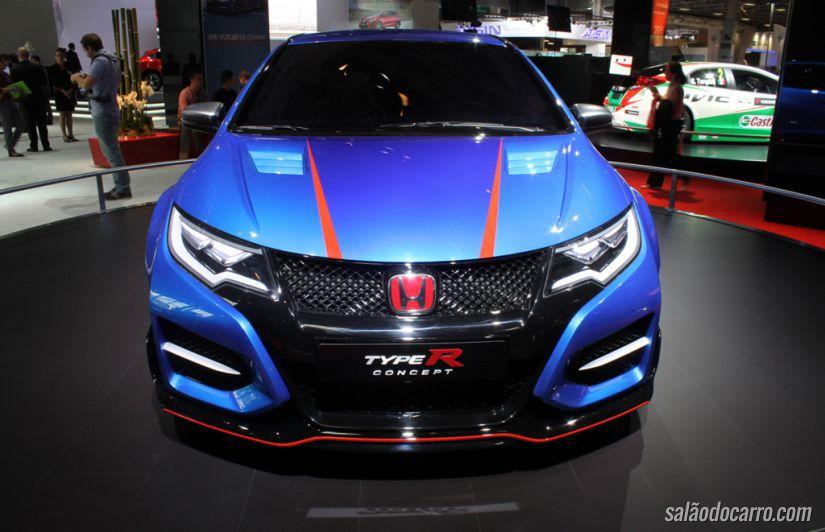 Honda apresenta Civic Type R no Salão de Paris