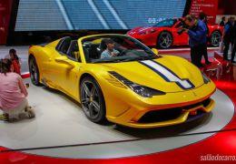 Ferrari apresenta 458 Speciale A