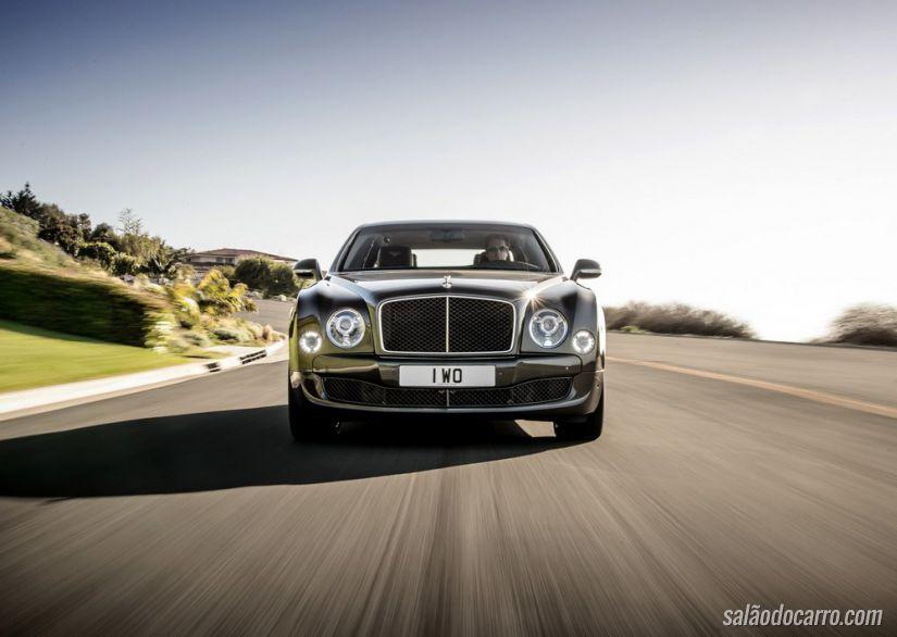 Bentley Mulsanne Speed estreia no Salão de Paris