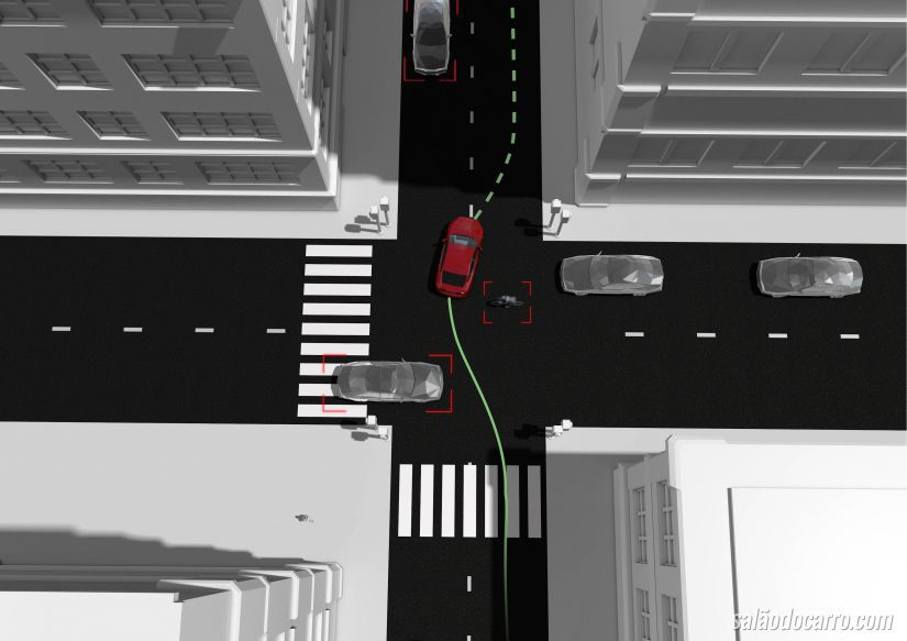Volvo desenvolve sistema que desvia o carro de acidentes