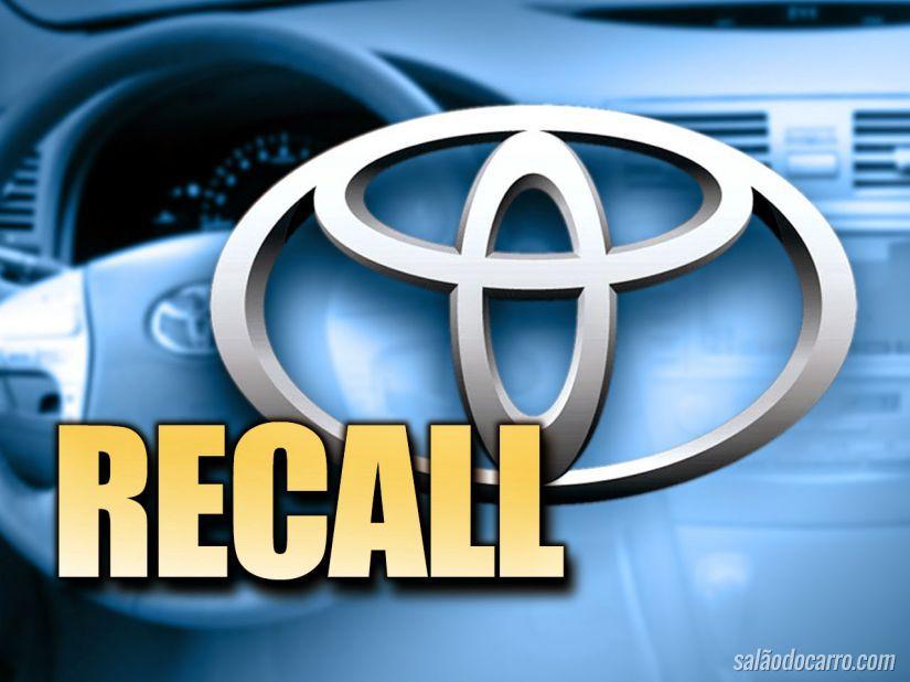 Toyota anuncia recall de 1,67 milhão de carros no mundo todo