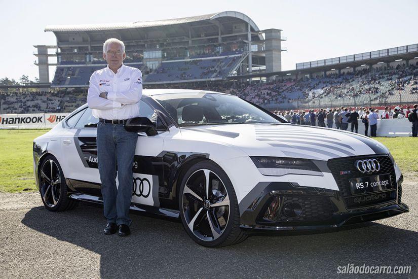 Audi RS7 é o carro autônomo mais rápido do mundo