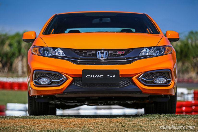 Honda Civic Si Coupé 2015 chega ao Brasil