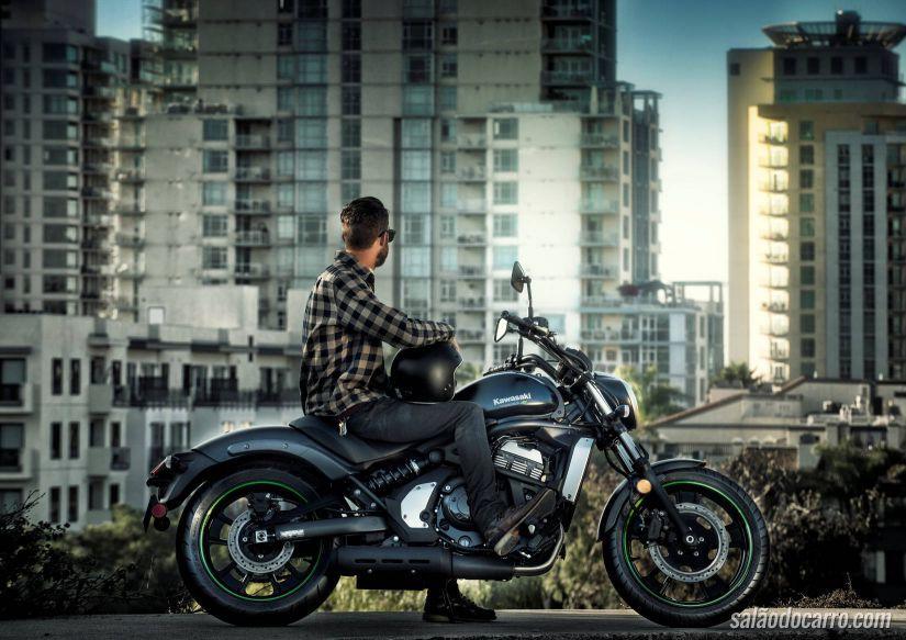 Kawasaki apresenta a nova Vulcan S