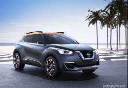 Nissan mostra o conceito SUV Kicks no Salão do Automóvel de São Paulo