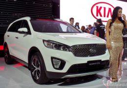 Kia lança novo Sorento no Salão do Automóvel de São Paulo
