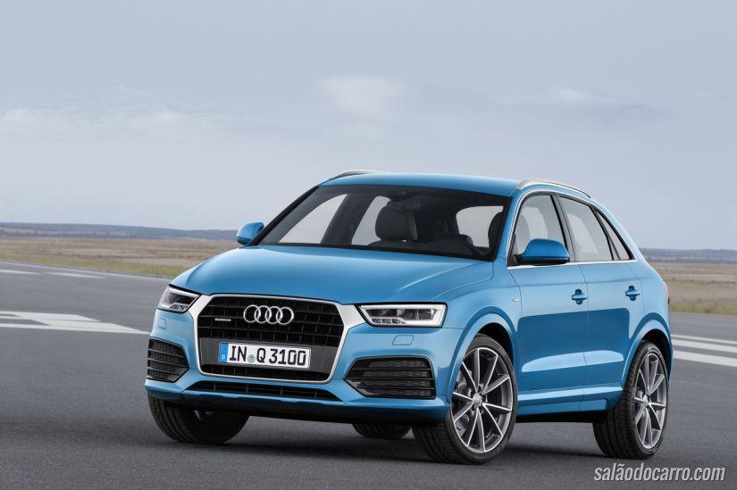 Audi divulga trailer com visual renovado do Q3 2015