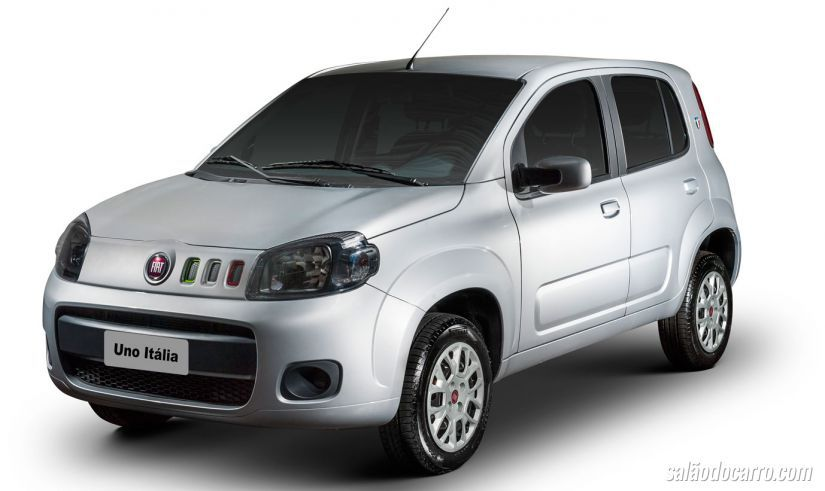 Fiat lança edição Itália para o Uno Vivace