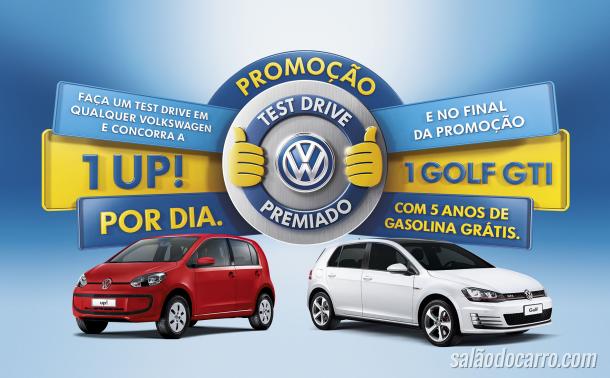 Volkswagen lança a promoção Test Drive Premiado