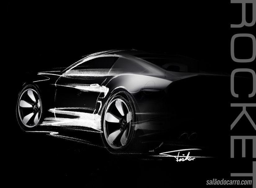 Fisker desenvolve carro-foguete e apresenta em LA