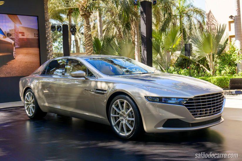 Aston Martin lança Lagonda em Dubai