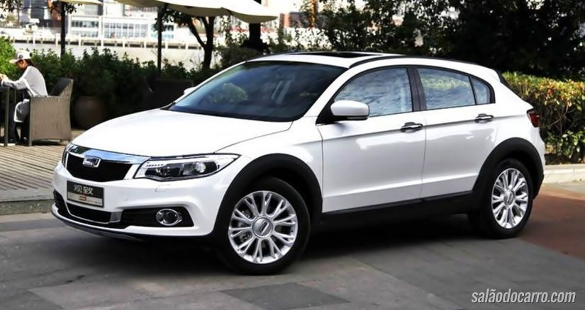 Qoros 3 City chega ao mercado chinês