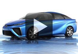 Toyota apresenta carro movido a hidrogênio