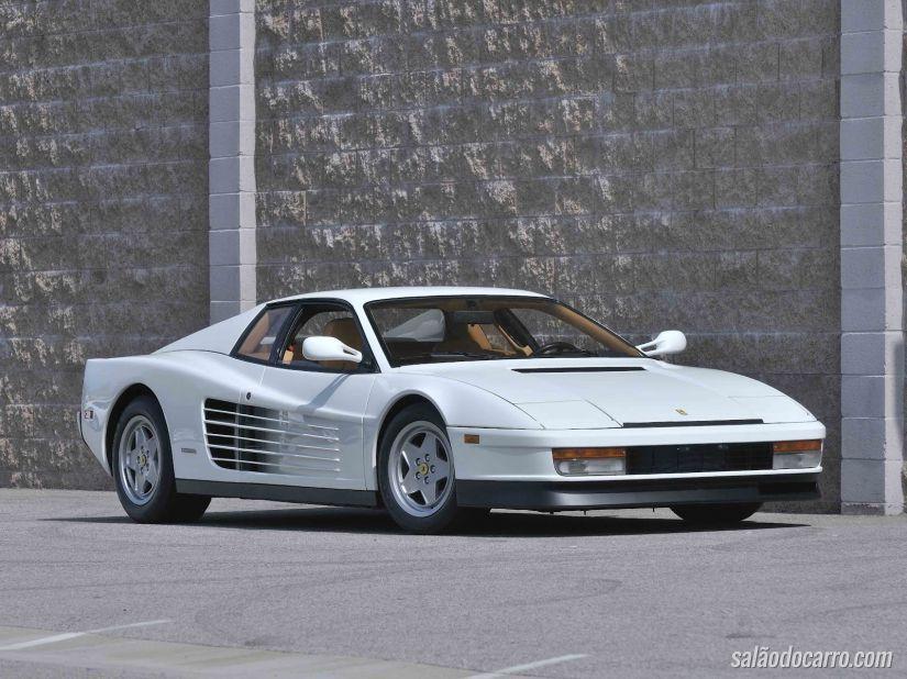 Ferrari celebra 30 anos do lançamento da Testarossa