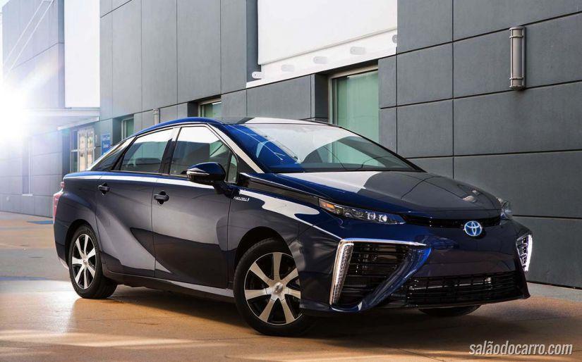 Toyota anuncia o modelo Mirai