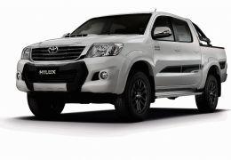 Toyota lança versões diesel Limited Edition e flexfuel SRV4X2 automática da picape Hilux