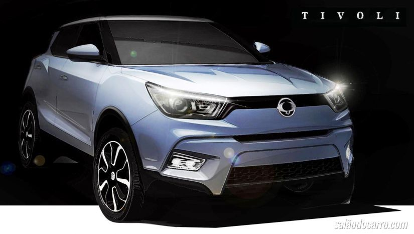 SsangYong apresenta o SUV Tivoli