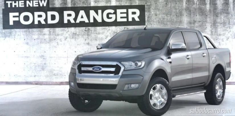 Ford revela novo visual da Ranger