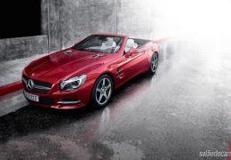 Mercedes apresenta versão do SL com 333 cavalos