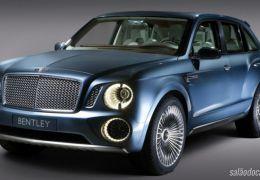Bentayga, o SUV da Bentley pode chegar em breve