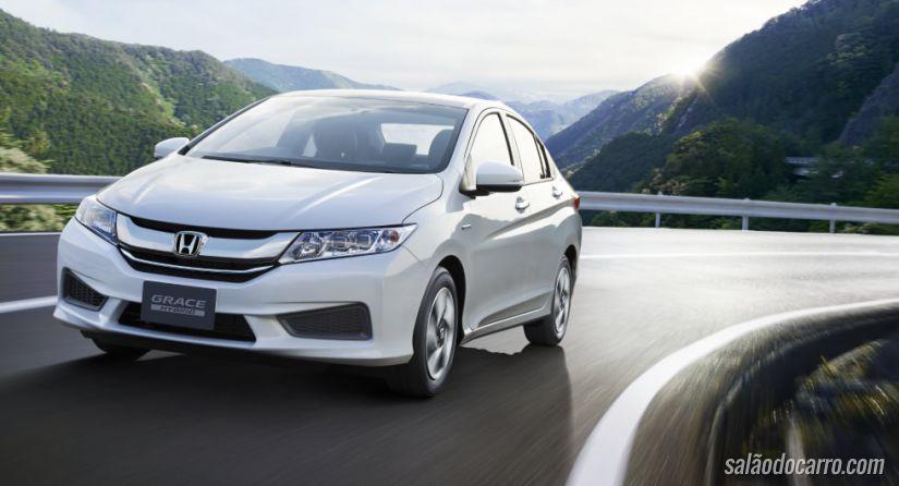 Honda lança Grace Hybrid