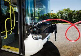Scania e Itaipu Binacional testam ônibus movido a biometano