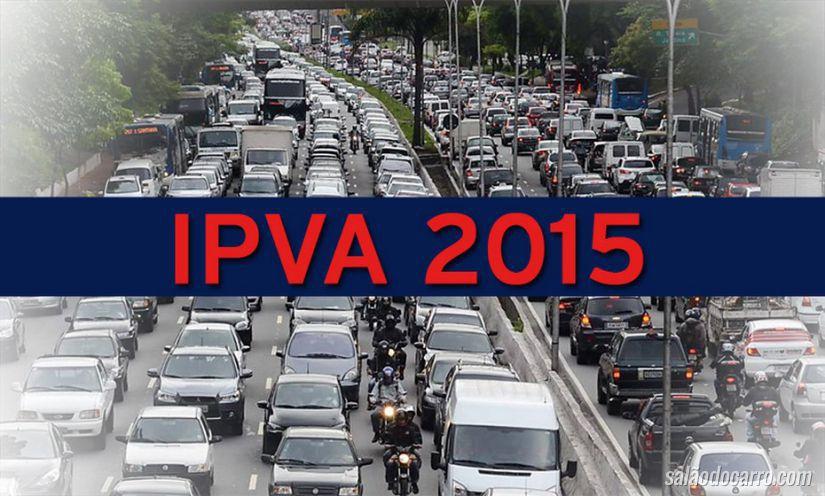 Preparativos para o IPVA 2015