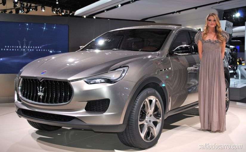 Maserati confirma lançamento do SUV Levante