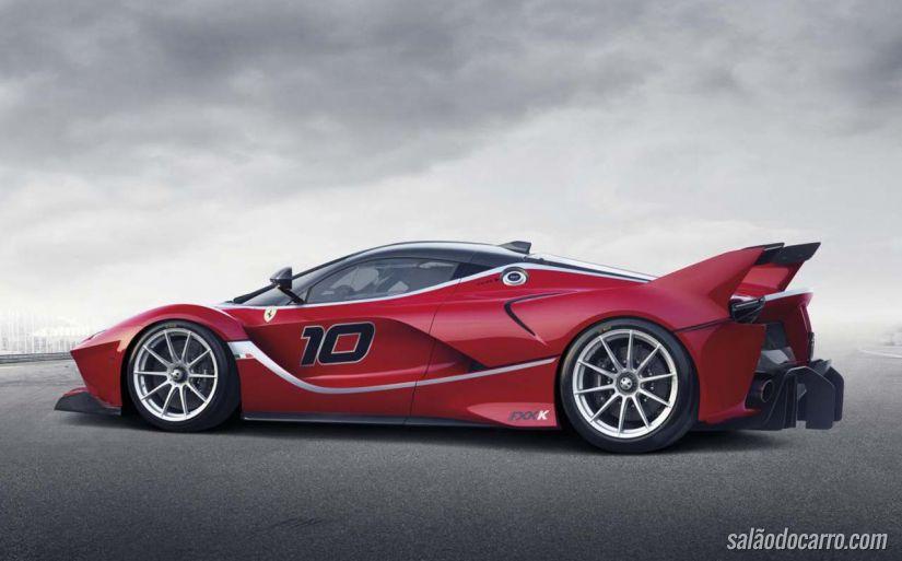 Ferrari revela o híbrido FXX K
