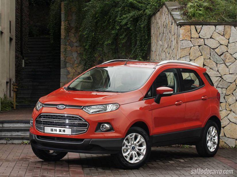 Ford começa a produzir EcoSport na Rússia