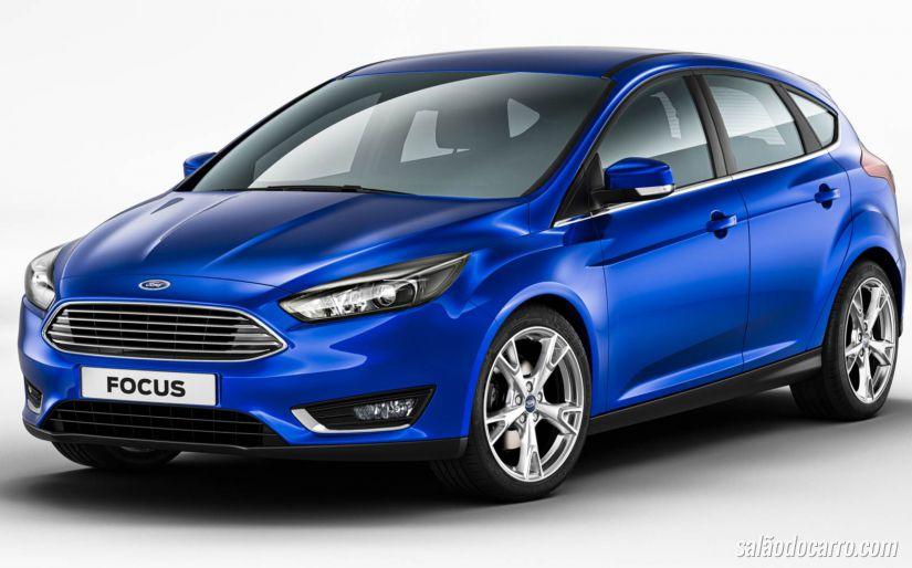 Ford Focus sofrerá mudanças em 2015