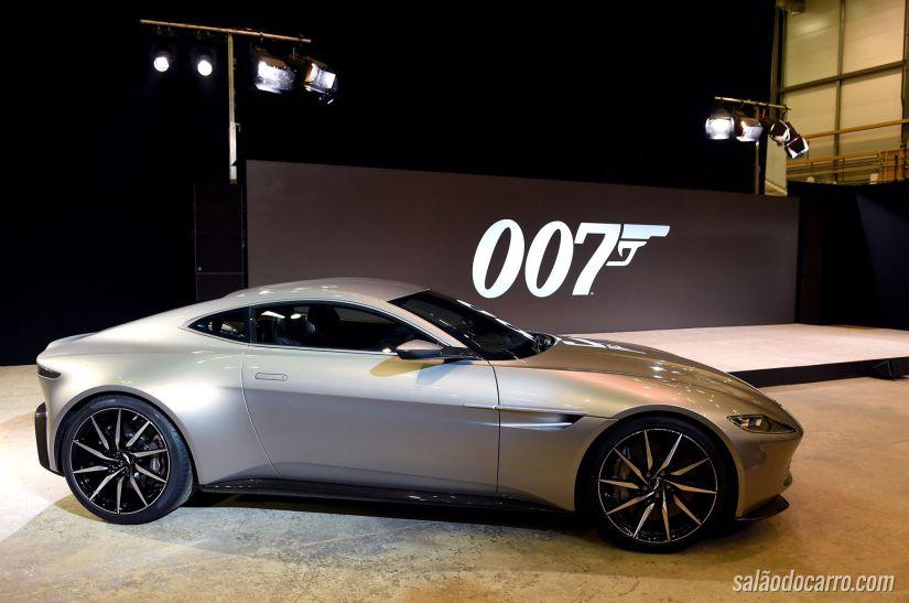 Aston Martin DB10 é desenvolvido para o novo 007