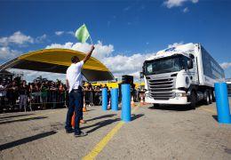 Final da 5ª Edição do prêmio Melhor Motorista de Caminhão do Brasil, da Scania