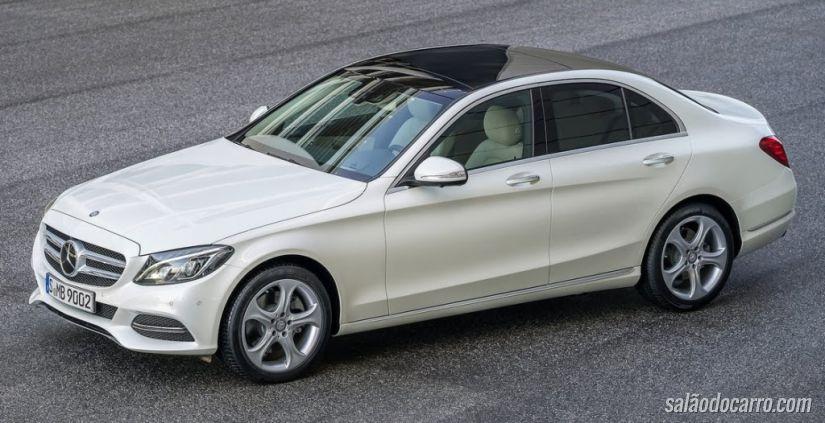 Mercedes-Benz Classe C Coupé chega ao mercado em dezembro de 2015