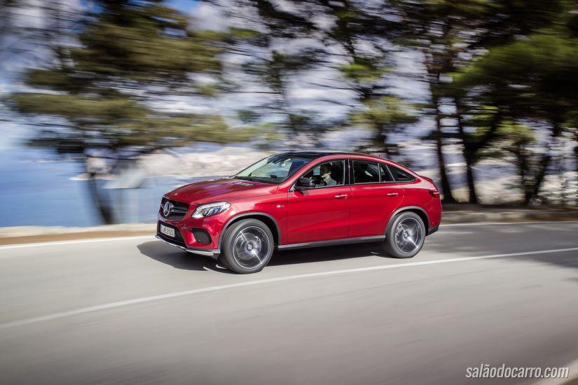 Mercedes-Benz apresenta GLE Coupé