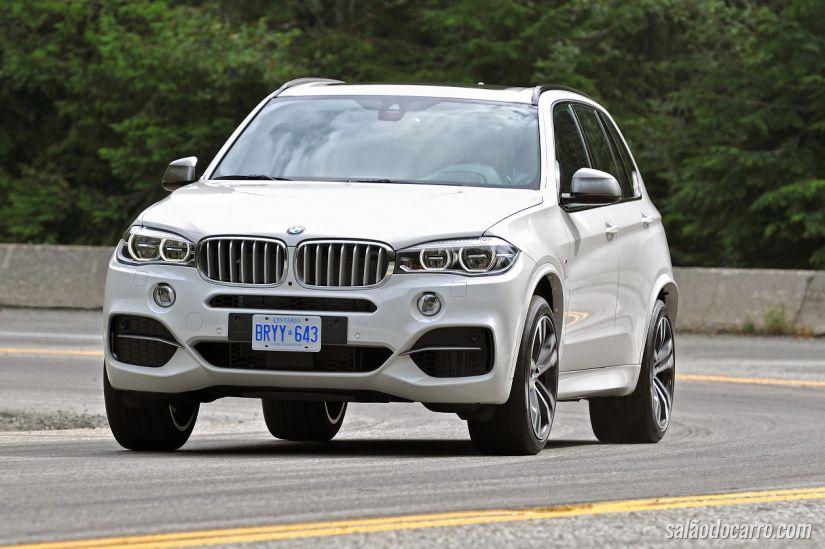 BMW anuncia chegada do X5 com motor a diesel ao Brasil