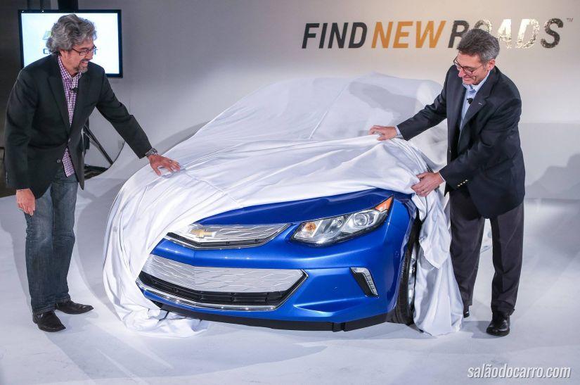 Chevrolet divulga vídeo do novo Volt 2016
