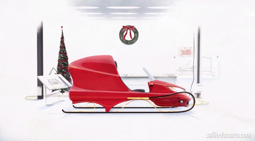 Honda cria novo trenó para Papai Noel